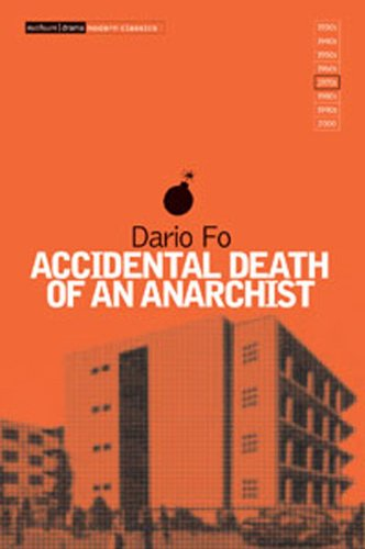Accidental Death of an Anarchist   1987 edition cover