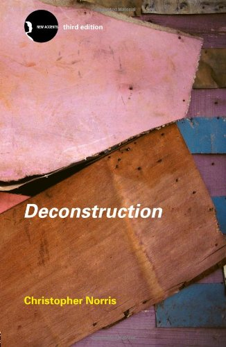 Deconstruction Theory and Practice 3rd 2002 (Revised) edition cover