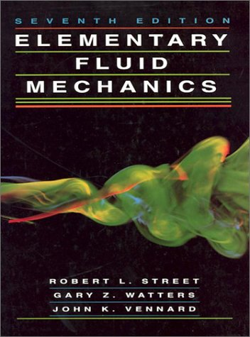 Elementary Fluid Mechanics  7th 1996 (Revised) edition cover
