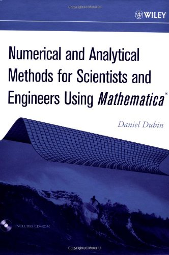 Numerical and Analytical Methods for Scientists and Engineers Using Mathematica   2003 9780471266105 Front Cover