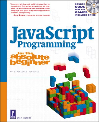 JavaScript Programming for the Absolute Beginner   2002 edition cover
