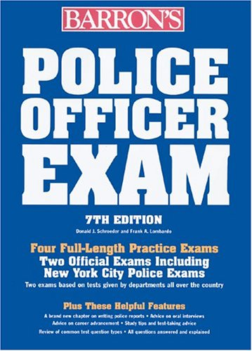 Police Officer Exam  7th 2005 9780764124105 Front Cover