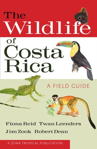 Wildlife of Costa Rica   2010 edition cover