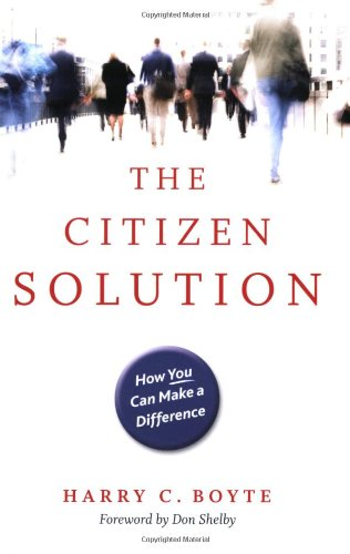 Citizen Solution How You Can Make a Difference  2008 edition cover