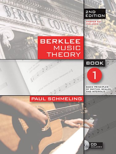 Berklee Music Theory  2nd (Revised) edition cover