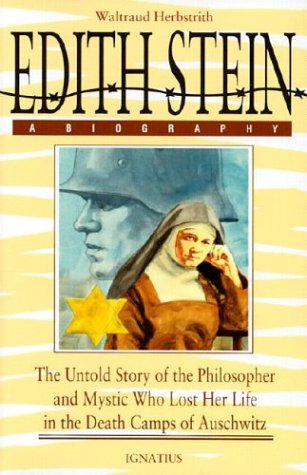 Edith Stein : A Biography 2nd (Reprint) edition cover
