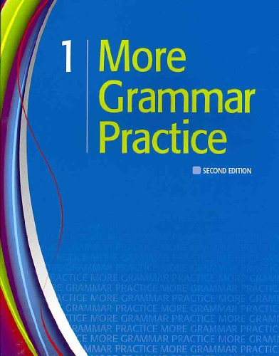 More Grammar Practice 1  2nd 2011 (Student Manual, Study Guide, etc.) edition cover