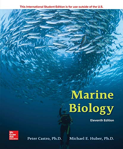 ISE Marine Biology  11th 2019 9781260085105 Front Cover