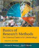 Basics of Research Methods for Criminal Justice and Criminology:   2015 9781305261105 Front Cover