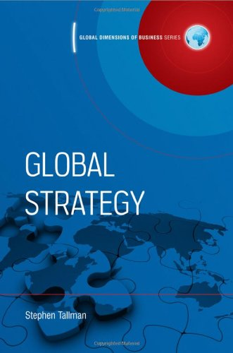 Global Strategy   2009 edition cover