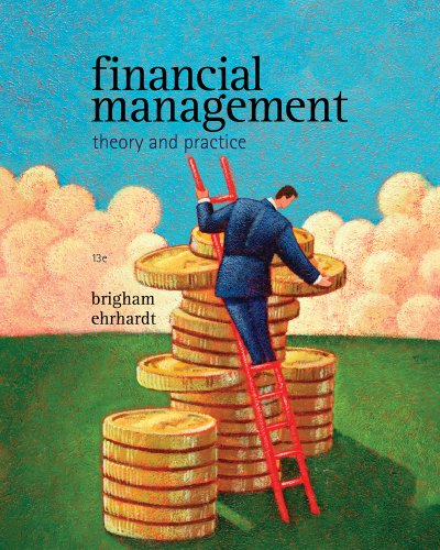 Financial Management Theory and Practice 13th 9781439078105 Front Cover