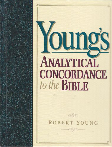 Young's Analytical Concordance to the Bible  N/A edition cover