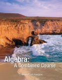 ALGEBRA:COMBINED COURSE        N/A edition cover