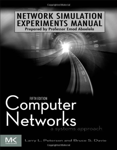 Network Simulation Experiments Manual  3rd 2011 9780123852106 Front Cover