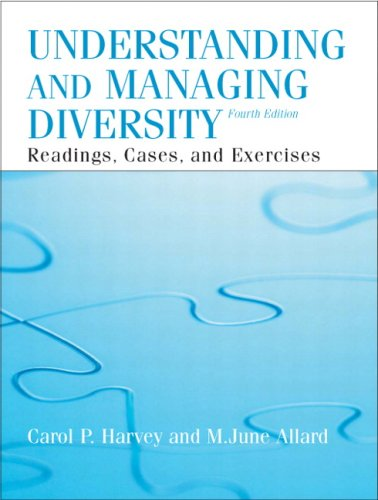 Understanding and Managing Diversity  4th 2009 edition cover