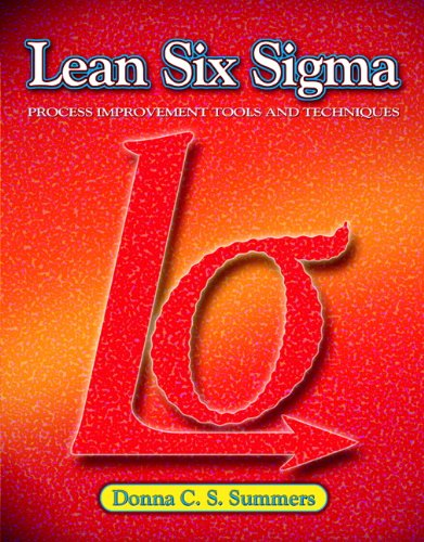 Lean Six Sigma   2011 edition cover