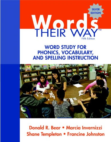 Words Their Way Word Study for Phonics, Vocabulary, and Spelling Instruction 5th 2012 (Revised) 9780137035106 Front Cover