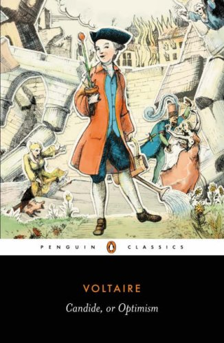 Candide Or Optimism  2006 edition cover