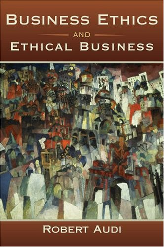 Business Ethics and Ethical Business   2009 edition cover