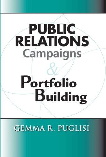 Public Relations Campaigns and Portfolio Building   2012 edition cover