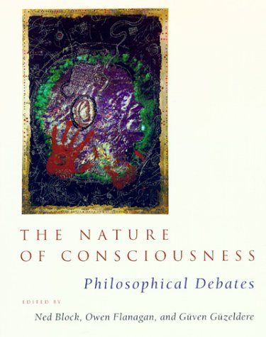 Nature of Consciousness Philosophical Debates  1997 edition cover