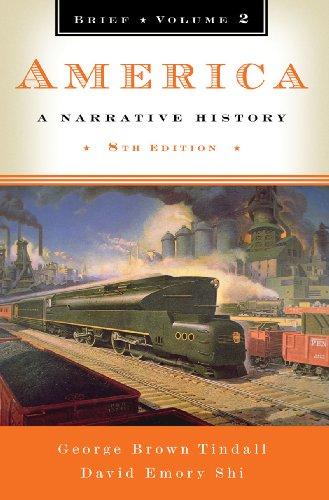 America A Narrative History 8th 2009 (Brief Edition) edition cover