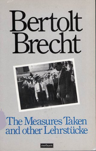 Measures Taken and Other Lehrstucke   1977 edition cover