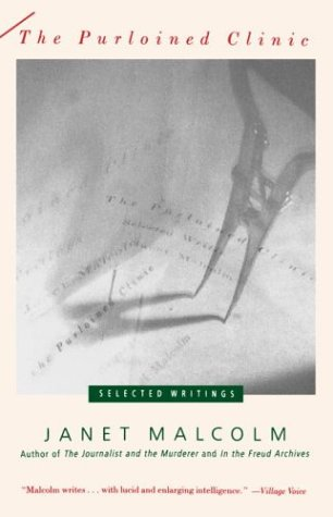 Purloined Clinic Selected Writings Reprint  edition cover