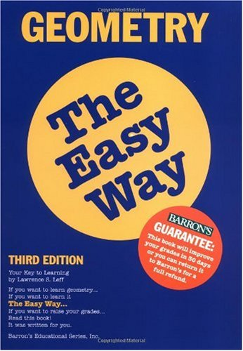 Geometry the Easy Way  3rd 1997 edition cover