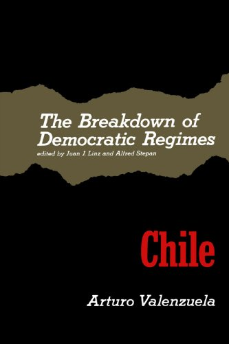 Breakdown of Democratic Regimes - Chile   1978 edition cover