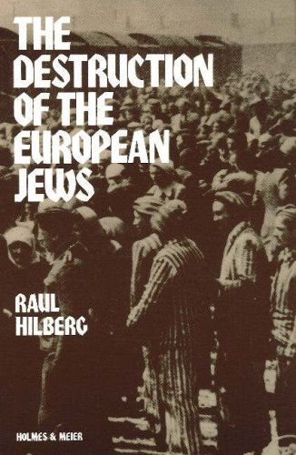 Destruction of the European Jews   1985 edition cover
