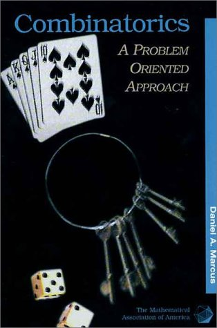 Combinatorics A Problem Oriented Approach  1998 edition cover