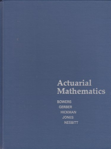 Actuarial Mathematics  2nd 9780938959106 Front Cover