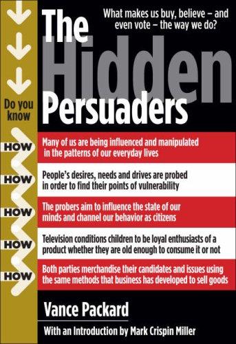 Hidden Persuaders   2007 (Reprint) edition cover