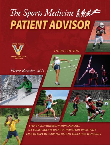 Sports Medicine Patient Advisor:  3rd 2010 edition cover