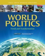 World Politics Trend and Transformation, 2013 - 2014 14th 2014 edition cover