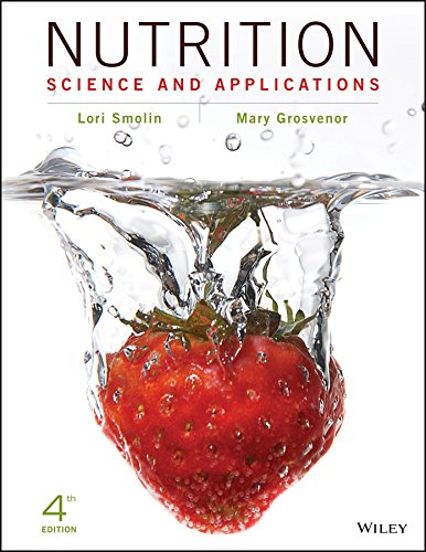 Nutrition, Binder Ready Version Science and Applications 4th 2016 9781119087106 Front Cover