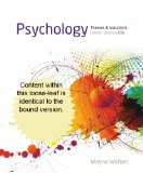 Cengage Advantage Books: Psychology Themes and Variations, Briefer Version 9th 2014 9781133959106 Front Cover