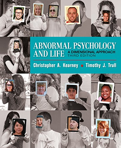 Abnormal Psychology and Life: A Dimensional Approach  2017 9781337098106 Front Cover