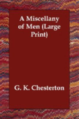 Miscellany of Men Large Type 9781406822106 Front Cover