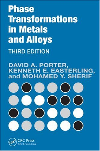 Phase Transformations in Metals and Alloys  3rd 2011 (Revised) edition cover