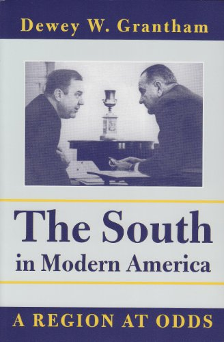 South in Modern America A Region at Odds  2001 edition cover