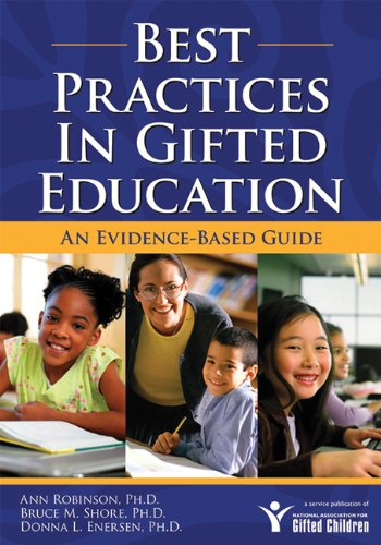 Best Practices in Gifted Education An Evidence-Based Guide  2007 edition cover