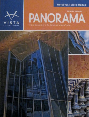 Panorama 4e Workbook/Video Manual  4th (Revised) edition cover