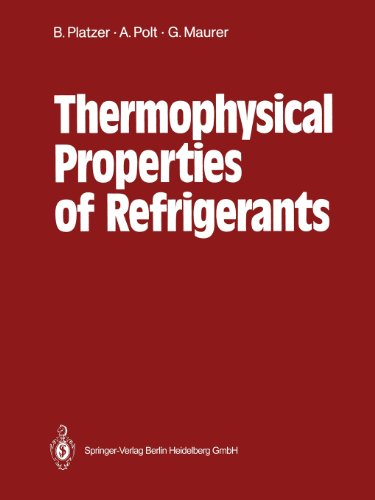 Thermophysical Properties of Refrigerants   1990 edition cover