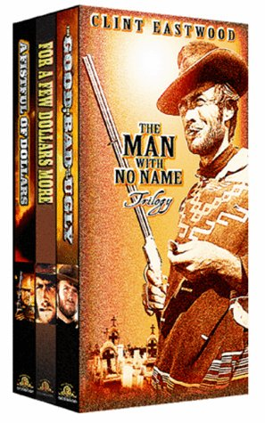 The Man with No Name Trilogy (A Fistful of Dollars, For A Few Dollars More, The Good, the Bad, and the Ugly) System.Collections.Generic.List`1[System.String] artwork