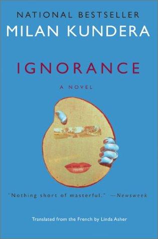 Ignorance A Novel  2002 edition cover
