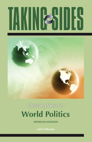 Clashing Views in World Politics  15th 2012 edition cover