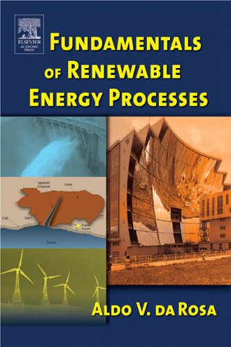 Fundamentals of Renewable Energy Processes   2005 9780120885107 Front Cover