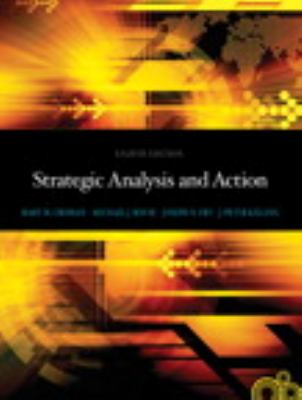 Strategic Analysis and Action  8th 2013 edition cover